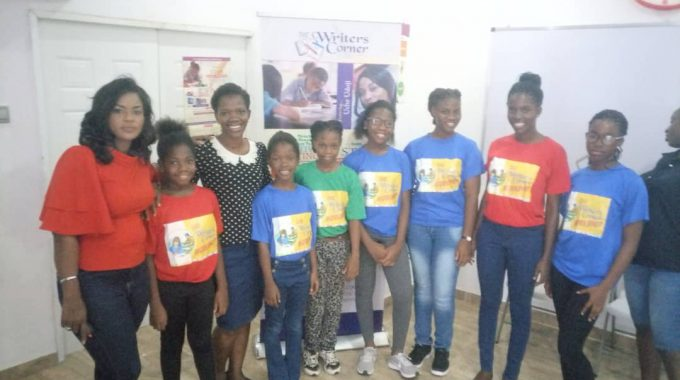 Pictures From The Writers Corner Young Writers Camp